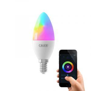 Dimbare Calex E14 smart kaarslamp, 5w, RGBW