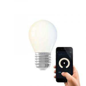 Dim to warm Calex E27 smart kogellamp, 4,5w