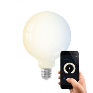 Dim to warm Calex E27 smart bollamp, G125 7,5w