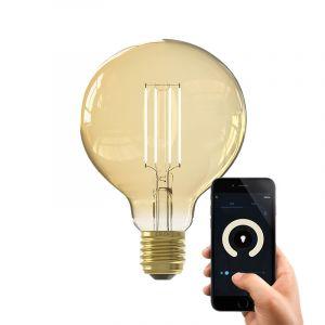 Dim to warm Calex E27 smart bollamp G95, 7w