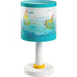 Waterleven tafellamp - Blauw