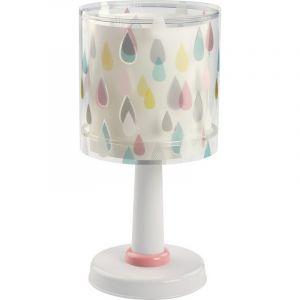 Gekleurde regendruppel tafellamp kinderkamer