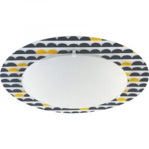 Plafondlamp Wonderland Kinderkamer - Geel Grijs