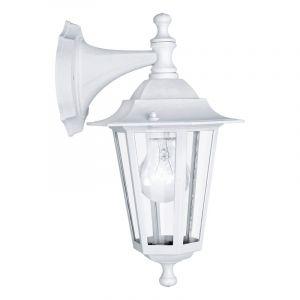 Witte klassieke buitenlamp, Amayra, aluminium, IP44