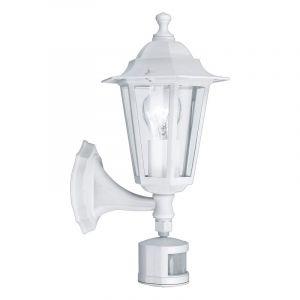 Amayra buitenlamp gegoten aluminium wit