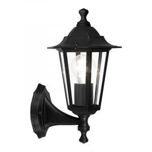 Zwarte klassieke buitenlamp, Alieke, aluminium, IP44
