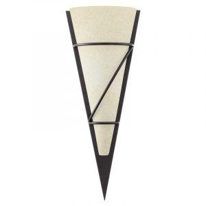 Puntige wandlamp Gali Klein Antiek bruin