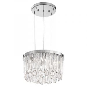 RVS hanglamp Jop chroom