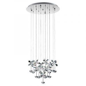 RVS hanglamp Jonne chroom