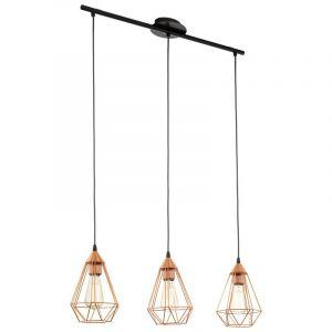 Koperen eettafellamp Costel