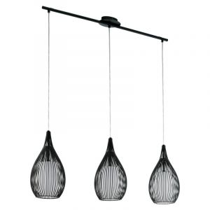 Moderne zwarte hanglamp Maritima
