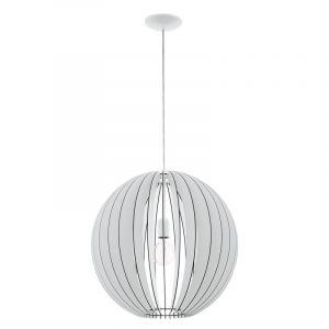 Houten bol hanglamp Pogalli