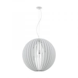 Grote houten bol hanglamp Pogalli