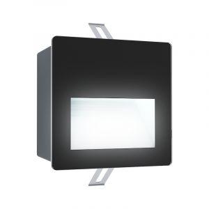 Witte moderne inbouwspot, Luigino, aluminium, 3,7w 4000K (wit) LED