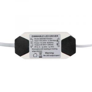 Dimbare LED driver, 18 Watt