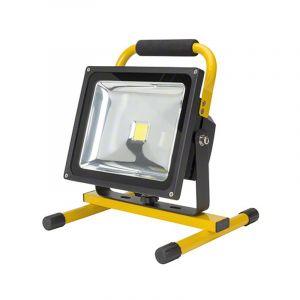 LED accu bouwlamp BUNQ met oplaadbare accu, 30w