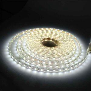 4 meter 220V LED strip, wit, IP67