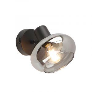 Design wandspot Skip, met schakelaar, zwart