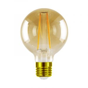 Dimbare Tekalux Sona E27 LED bollamp, 1800k, G95