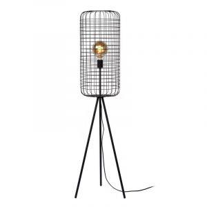 Moderne vloerlamp Esmee, Zwart