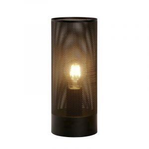 Moderne tafellamp Beli, Zwart
