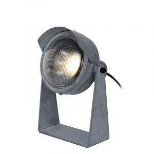 Industriele tafellamp Cicleta, Grijs