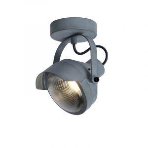 Industriele plafondlamp Cicleta, Grijs