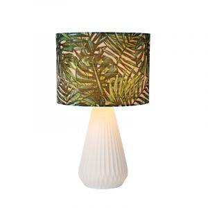 Witte Tafellamp Serenoa, keramiek