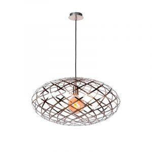 Moderne hanglamp Wolfram, Chroom