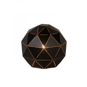 Moderne tafellamp Otona, Zwart