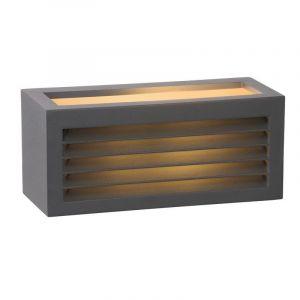 Antraciete wandlamp Dimo voor buiten, modern