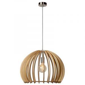 Hanglamp Bounda hout, rond