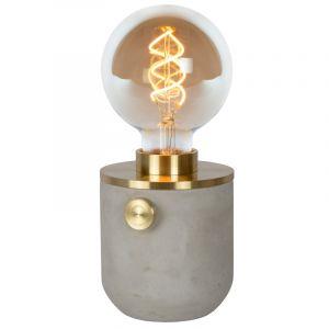 Gouden Tafellamp Tanner, aluminium, met schakelaar