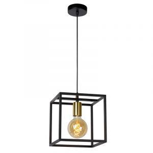 Zwarte hanglamp Ruben, metaal