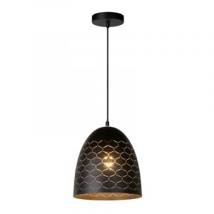 Moderne hanglamp Galla, Zwart