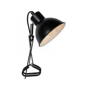 Zwarte klemlamp Moys, staal
