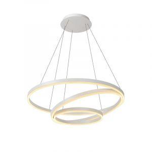 Moderne hanglamp Triniti, Wit