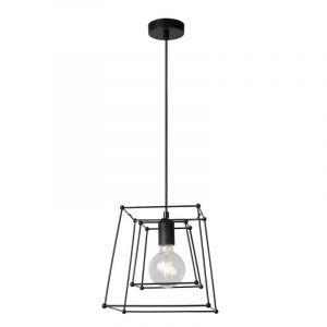 Moderne hanglamp Kiek, Zwart