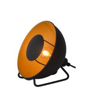 Zwarte Tafellamp Alvaro, staal