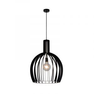 Moderne hanglamp Mikaela, Zwart