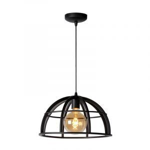 Moderne hanglamp Dikra, Zwart