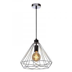 Chroom hanglamp Kyara, Rond