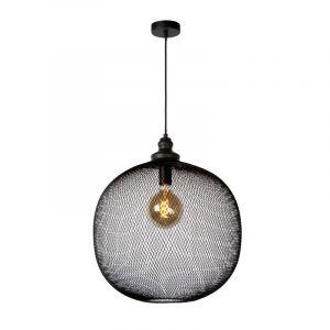 Moderne hanglamp Mesh, Zwart