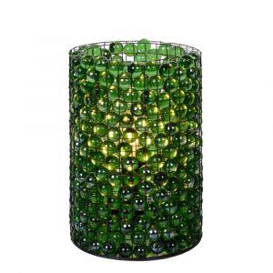 Groene Tafellamp Extravaganza Marbelous, glas