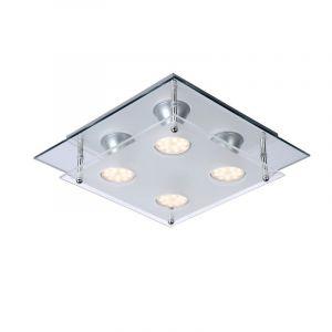 Moderne Ready led plafondlamp - vierkant