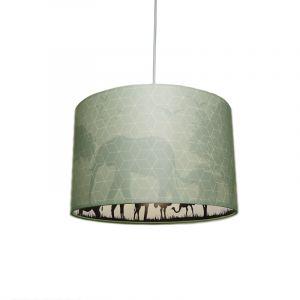 Mint dieren hanglamp Safari, Binnenzijde doorschijnend