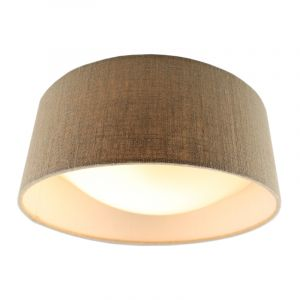 Linnen plafondlamp Dewy