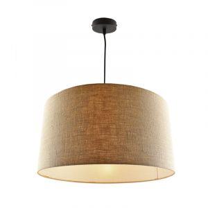 Hanglamp Urvin, linnen stof, 40 cm