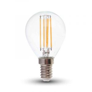 Tekalux Sorna E14 LED filament kogellamp, 3,5w warm wit, dimbaar