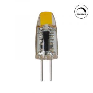Dimbare G4 LED lamp Silvan, 1 w warm wit